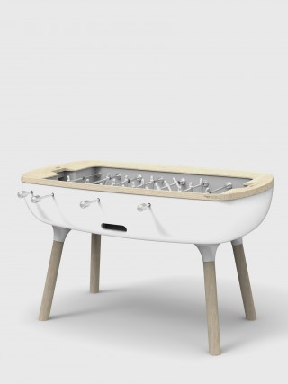 the modern high-end vision of a foosball table.