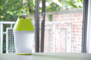 the Nomad solar lamp.