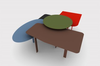 one tables is the separate element  that allows the creation of a multitude of geometries.