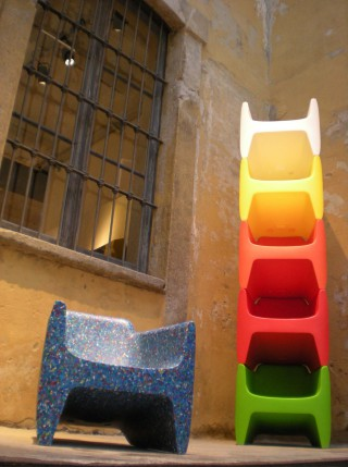 in Milan during the Salone del Mobile.