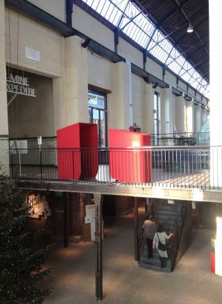 during the exposition 'Triennal van design', 'Conflict & Design' in C-Mine, Genk, Belgium.