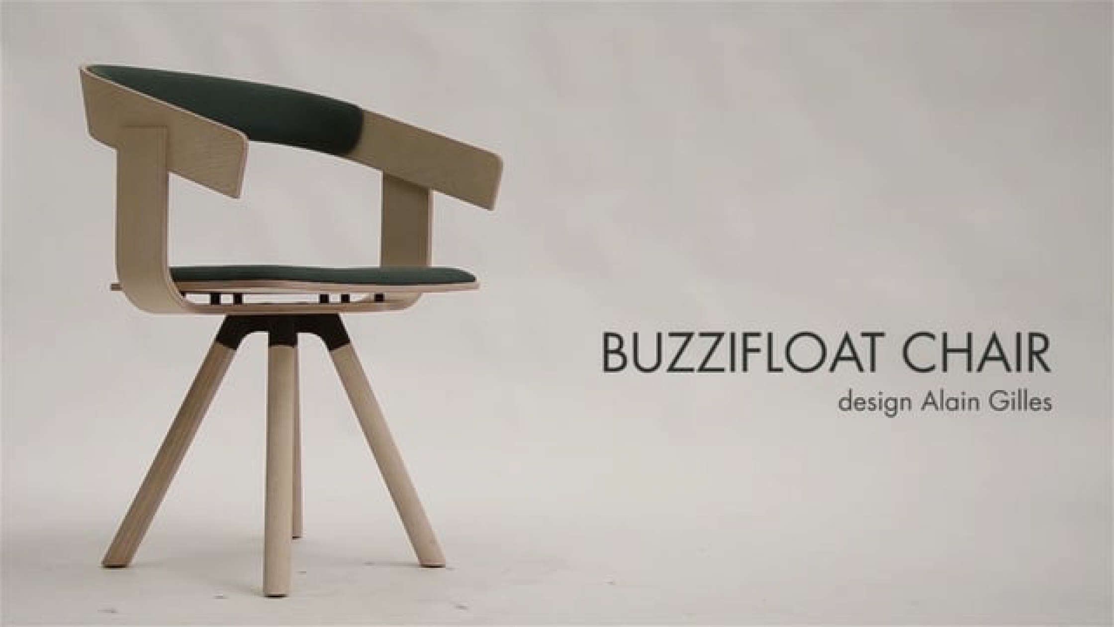 BUZZIFLOAT CHAIR COLLECTION / A Plywood Chair With A Floating Effect